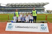 4 April 2018; The Ballyboden St Enda's, Co Dublin, team during Day 2 of the The Go Games Provincial days in partnership with Littlewoods Ireland at Croke Park in Dublin. Photo by Piaras Ó Mídheach/Sportsfile