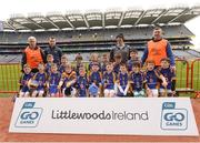 4 April 2018; The Ballinkillen, Co Carlow, team during Day 2 of the The Go Games Provincial days in partnership with Littlewoods Ireland at Croke Park in Dublin. Photo by Piaras Ó Mídheach/Sportsfile
