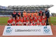 4 April 2018; The Palatine, Co Carlow, team during Day 2 of the The Go Games Provincial days in partnership with Littlewoods Ireland at Croke Park in Dublin. Photo by Piaras Ó Mídheach/Sportsfile