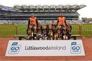 4 April 2018; The Miseal, Co Carlow, team during Day 2 of the The Go Games Provincial days in partnership with Littlewoods Ireland at Croke Park in Dublin. Photo by Piaras Ó Mídheach/Sportsfile