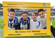 4 April 2018; Players from Ballyboden St. Enda's GAA, Dublin, during Day 2 of the The Go Games Provincial days in partnership with Littlewoods Ireland at Croke Park in Dublin. Photo by Eóin Noonan/Sportsfile