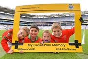 4 April 2018; Players from Palatine GAA Club, Carlow, during Day 2 of the The Go Games Provincial days in partnership with Littlewoods Ireland at Croke Park in Dublin. Photo by Eóin Noonan/Sportsfile