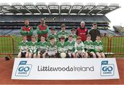 5 April 2018; The Killarney Legion, Co Kerry, team during Day 3 of the The Go Games Provincial days in partnership with Littlewoods Ireland at Croke Park in Dublin. Photo by Matt Browne/Sportsfile