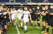 6 April 2018; Rory Best of Ulster leads his team-mates off the field after the Guinness PRO14 Round 19 match between Edinburgh and Ulster at BT Murrayfield in Edinburgh, Scotland. Photo by Paul Devlin/Sportsfile