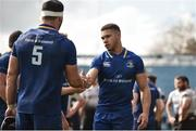 7 April 2018; Adam Byrne following the Guinness PRO14 Round 19 match between Leinster and Zebre at the RDS Arena in Dublin. Photo by Sam Barnes/Sportsfile