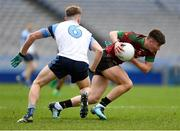 7 April 2018; Adam Loughran of St Ronan's College in action against Eoghan McLaughlin of Rice College during the Masita GAA All Ireland Post Primary Schools Hogan Cup Final match between Rice College Westport and St Ronan's College Lurgan at Croke Park in Dublin. Photo by Piaras Ó Mídheach/Sportsfile