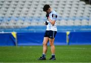 7 April 2018; Fintan McManamon of Rice College dejected after after the Masita GAA All Ireland Post Primary Schools Hogan Cup Final match between Rice College Westport and St Ronan's College Lurgan at Croke Park in Dublin. Photo by Piaras Ó Mídheach/Sportsfile