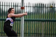 8 April 2018; Michaela Walsh of Swinford A.C. Co Mayo, competing in the Senior Women's Hammer Event during the Irish Life Health National Spring Throws at Templemore in Co. Tipperary. Photo by Sam Barnes/Sportsfile