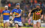 8 April 2018; John McGrath of Tipperary in action against John Donnelly of Kilkenny during the Allianz Hurling League Division 1 Final match between Kilkenny and Tipperary at Nowlan Park in Kilkenny. Photo by Piaras Ó Mídheach/Sportsfile