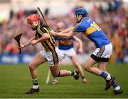 8 April 2018; Cillian Buckley of Kilkenny in action against John McGrath of Tipperary following the Allianz Hurling League Division 1 Final match between Kilkenny and Tipperary at Nowlan Park in Kilkenny. Photo by Stephen McCarthy/Sportsfile