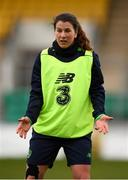 9 April 2018; Niamh Fahey during Republic of Ireland training at Tallaght Stadium in Tallaght, Dublin. Photo by Stephen McCarthy/Sportsfile