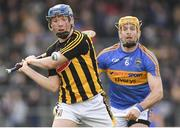 8 April 2018; John Donnelly of Kilkenny in action against Padraic Maher of Tipperary during the Allianz Hurling League Division 1 Final match between Kilkenny and Tipperary at Nowlan Park in Kilkenny. Photo by Piaras Ó Mídheach/Sportsfile