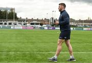9 April 2018; Sean O'Brien during Leinster Rugby squad training at Energia Park in Donnybrook, Dublin. Photo by David Fitzgerald/Sportsfile
