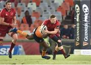 13 April 2018; Andrew Conway of Munster during the Guinness PRO14 Round 20 match between Toyota Cheetahs and Munster at Toyota Stadium in Bloemfontein, South Africa. Photo by Johan Pretorius/Sportsfile