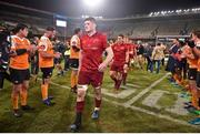 13 April 2018; Jack O'Donoghue of Munster and his team-mates after the Guinness PRO14 Round 20 match between Toyota Cheetahs and Munster at Toyota Stadium in Bloemfontein, South Africa. Photo by Johan Pretorius/Sportsfile