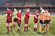 13 April 2018; Munster players after the Guinness PRO14 Round 20 match between Toyota Cheetahs and Munster at Toyota Stadium in Bloemfontein, South Africa. Photo by Johan Pretorius/Sportsfile