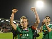13 April 2018; Cork City captain Conor McCormack celebrates after the SSE Airtricity League Premier Division match between Cork City and St Patrick's Athletic at Turner's Cross in Cork. Photo by Piaras Ó Mídheach/Sportsfile