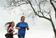 14 April 2018; Participants during the Vhi Run Together Day at the Porterstown parkrun in Dublin.  Vhi, presenting partner of parkrun and title sponsor of the Vhi Women's Mini Marathon is calling on walkers, joggers and runners of all ages and abilities to join the Vhi squad in kick-starting their training 7 weeks out from the Vhi Women's Mini Marathon on Bank holiday Sunday, 3rd June at 2pm. Photo by David Fitzgerald/Sportsfile