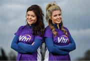 14 April 2018; Doireann, left, and Ailbhe Garrihy, members of the Vhi Run Squad, pictured at the Vhi Run Together Day at Porterstown parkrun. Vhi, presenting partner of parkrun and title sponsor of the Vhi Women's Mini Marathon is calling on walkers, joggers and runners of all ages and abilities to join the Vhi squad in kick-starting their training 7 weeks out from the Vhi Women's Mini Marathon on Bank holiday Sunday, 3rd June at 2pm. Photo by David Fitzgerald/Sportsfile