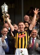 8 April 2018; Kilkenny captain Cillian Buckley lifts the cup following the Allianz Hurling League Division 1 Final match between Kilkenny and Tipperary at Nowlan Park in Kilkenny. Photo by Piaras Ó Mídheach/Sportsfile