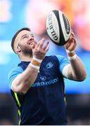 14 April 2018; Sean O'Brien of Leinster ahead of the Guinness PRO14 Round 20 match between Leinster and Benetton Rugby at the RDS Arena in Dublin. Photo by Ramsey Cardy/Sportsfile