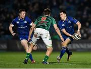 14 April 2018; Noel Reid of Leinster in action against Federico Ruzza of Benetton Rugby during the Guinness PRO14 Round 20 match between Leinster and Benetton Rugby at the RDS Arena in Dublin. Photo by Seb Daly/Sportsfile