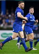 14 April 2018; Sean O'Brien of Leinster during the Guinness PRO14 Round 20 match between Leinster and Benetton Rugby at the RDS Arena in Dublin. Photo by Brendan Moran/Sportsfile