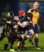14 April 2018; Action from the Bank of Ireland half-time minis match between Westmanstown RFC and Ardee RFC at the Guinness PRO14 Round 20 match between Leinster and Benetton Rugby at the RDS Arena in Ballsbridge, Dublin. Photo by Seb Daly/Sportsfile