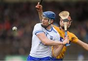 11 March 2018; Austin Gleeson of Waterford in action against Peter Duggan of Clare during the Allianz Hurling League Division 1A Round 5 match between Waterford and Clare at Walsh Park in Waterford. Photo by Piaras Ó Mídheach/Sportsfile