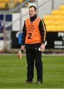 8 April 2018; Kilkenny coach Conor Phelan before the Littlewoods Ireland Camogie League Division 1 Final match between Kilkenny and Cork at Nowlan Park in Kilkenny. Photo by Piaras Ó Mídheach/Sportsfile