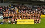 8 April 2018; The Kilkenny squad before the Littlewoods Ireland Camogie League Division 1 Final match between Kilkenny and Cork at Nowlan Park in Kilkenny. Photo by Piaras Ó Mídheach/Sportsfile
