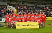 8 April 2018; The Cork squad before the Littlewoods Ireland Camogie League Division 1 Final match between Kilkenny and Cork at Nowlan Park in Kilkenny. Photo by Piaras Ó Mídheach/Sportsfile