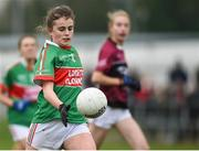 14 April 2018; Kellyann Hogan of Loreto, Clonmel during the Lidl All Ireland Post Primary School Senior A Final match between Loreto, Clonmel, Tipperary and Loreto, Cavan at Kinnegad in County Westmeath. Photo by Matt Browne/Sportsfile