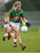 14 April 2018; Eimear Quirke of Loreto, Clonmel during the Lidl All Ireland Post Primary School Senior A Final match between Loreto, Clonmel, Tipperary and Loreto, Cavan at Kinnegad in County Westmeath. Photo by Matt Browne/Sportsfile