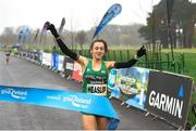 15 April 2018; Shona Heaslip of An Riocht A.C. on her way to finishing as first woman during the Great Ireland Run and AAI National 10k at the Phoenix Park in Dublin. Photo by David Fitzgerald/Sportsfile