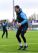 16 April 2018; Jonathan Sexton during Leinster Rugby squad training at Energia Park in Dublin. Photo by Ramsey Cardy/Sportsfile