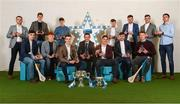 16 April 2018; The hurling team at the Electric Ireland HE GAA Football & Hurling Rising Stars Awards for 2018, in Croke Park. The awards acknowledge outstanding performances in the battle for third level football and hurling Championships and come at the end of what was an epic season of GAA action.   Back Row, from left:  UL hurler John McGrath from Tipperary, DCU hurler Donal Burke from Dublin, UL hurler David Fitzgerald from Clare, DCU hurler Joe O'Connor from Wexford, Carlow IT hurler Martin Kavanagh from Carlow, Maynooth University hurler Brian Hogan from Tipperary, UL hurler Conor Cleary from Clare.  Front Row, from left:  DCU hurler Eoghan O'Donnell, from Dublin, DCU hurler John Donnelly from Kilkenny, UL hurler David McCarthy from Limerick, UL hurler Gearóid Hegarty from Limerick, UL hurler Seán Finn from Limerick, Carlow IT hurler Colin Dunford from Waterford, DIT hurler Niall O'Brien from Westmeath.  Photo by Stephen McCarthy/Sportsfile