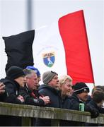 15 April 2018; Wicklow RFC supporters during the Bank of Ireland Provincial Towns Cup Semi-Final match between Tullow RFC and Wicklow RFC at Cill Dara RFC in Kildare. Photo by Ramsey Cardy/Sportsfile