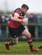15 April 2018; Shane Farrar of Wicklow during the Bank of Ireland Provincial Towns Cup Semi-Final match between Tullow RFC and Wicklow RFC at Cill Dara RFC in Kildare. Photo by Ramsey Cardy/Sportsfile