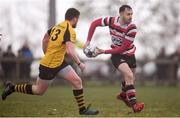15 April 2018; Ivan Jacob of Enniscorthy during the Bank of Ireland Provincial Towns Cup Semi-Final match between Enniscorthy RFC and Ashbourne RFC at Cill Dara RFC in Kildare. Photo by Ramsey Cardy/Sportsfile