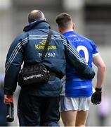 1 April 2018; Dara McVeety of Cavan leaves the field with an injury during the Allianz Football League Division 2 Final match between Cavan and Roscommon at Croke Park in Dublin. Photo by Piaras Ó Mídheach/Sportsfile
