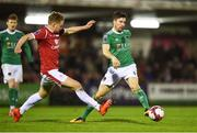 17 April 2018; Gearóid Morrissey of Cork City in action against Gary Boylan of Sligo Rovers during the SSE Airtricity League Premier Division match between Cork City and Sligo Rovers at Turner's Cross in Cork. Photo by Eóin Noonan/Sportsfile