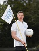 19 April 2018; In attendance at the GUI National Headquarters to help mark the commencement of the 2018 AIG Cups & Shields season and to celebrate AIG's 20th anniversary as a partner to the GUI and ILGU is Dublin football star and AIG ambassador Dean Rock. AIG revealed details of their 'AIG Golfer Anniversary Sale', where they are offering up to 20% off car insurance and up to 50% on home Insurance.* For more details see www.aig.ie/golf . Photo by Brendan Moran/Sportsfile