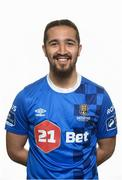 19 April 2018; Bastien Hery of Waterford FC during a squad portrait session at the Regional Sports Centre in Waterford. Photo by Matt Browne/Sportsfile