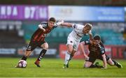 20 March 2018; Keith Buckley, left, and Dan Byrne of Bohemians in action against Conor McCormack of Cork City during the SSE Airtricity League Premier Division match between Bohemians and Cork City at Dalymount Park in Dublin. Photo by Sam Barnes/Sportsfile