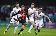 20 March 2018; Eoghan Stokes of Bohemians in action against Conor McCormack of Cork City during the SSE Airtricity League Premier Division match between Bohemians and Cork City at Dalymount Park in Dublin. Photo by Sam Barnes/Sportsfile