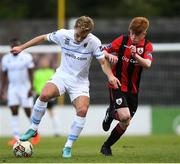 21 April 2018; Greg Sloggett of UCD in action against Aodh Dervin of Longford Town during the SSE Airtricity League First Division match between Longford Town and UCD at the City Calling Stadium in Lissanurlan, Longford. Photo by Harry Murphy/Sportsfile