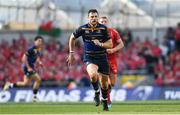 21 April 2018; Robbie Henshaw of Leinster during the European Rugby Champions Cup Semi-Final match between Leinster Rugby and Scarlets at the Aviva Stadium in Dublin. Photo by Ramsey Cardy/Sportsfile