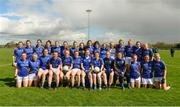 22 April 2018; The Tipperary squad before the Lidl Ladies Football National League Division 2 semi-final match between Tipperary and Armagh at Coralstown Kinnegad GAA in Kinnegad, Westmeath. Photo by Piaras Ó Mídheach/Sportsfile