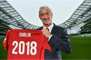 23 April 2018; Liverpool Football Club Ambassador Ian Rush was at the Aviva Stadium in Dublin today for the announcement of the Liverpool FC v SSC Napoli Pre-Season Friendly. The game will take place on the Saturday August 4th 2018 at the Aviva Stadium in Dublin. Photo by Sam Barnes/Sportsfile